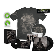 "Hyëna Fan Box (Limited edition: 500 pcs) -  T-Shirt ""Seven Inches"" (grey)"