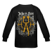 "Round Neck Longsleeve ""Into the Fire"" Black"
