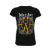 """Girlie Shirt """"Into the Fire"""" Black"""