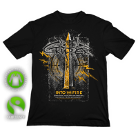 """T-Shirt """"Into the Fire"""" Black"""