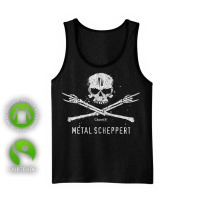 "Tank-Top Shirt ""Metal scheppert"""