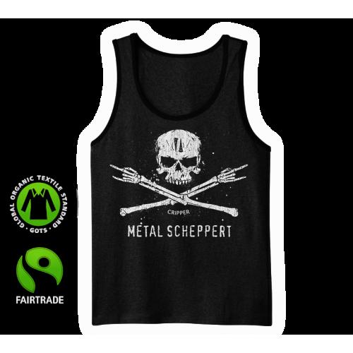 """Tank-Top Shirt """"Metal scheppert"""""""