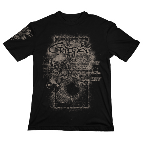 "T-Shirt ""Seven Inches"" Black"