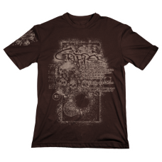 "T-Shirt ""Seven Inches"" Brown"